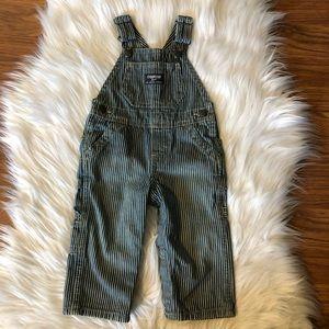 Oshkosh Bgosh Overalls Baby Stripe Vestbak 9 Month